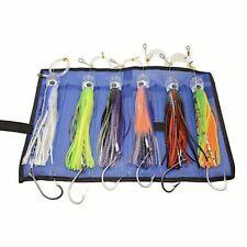 Trolling Fishing Lures Set 6 Pcs 9 Inch Baits For Saltwater Tuna Marlin Big Game