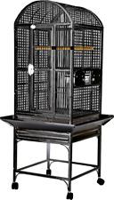 "Dome Top Bird Cage - 9001818 Black - 18""x18""x51"" ;"
