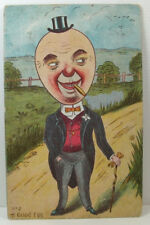 POSTCARD A Good Egg; Richardson & Co.; Postmark Dover 1905