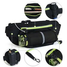 Adjustable Multi-Function Waist Bag Sports Hiking Water Bottle Holder Pocket Bag