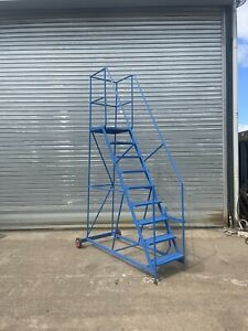 Safety Steps Warehouse Factory Ladder Mobile