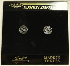 Harley-Davidson Motorcycles Small Round Fashion Earrings Set 99063-90z