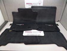Toyota 4Runner Black TRD PRO Carpet Floor Mats Genuine OEM OE