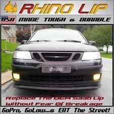 Saab 9 2x 9 3 9 5 900 Front Valance Flex Rubber Chin Lip Splitter Spoiler Trim Fits Saturn Aura