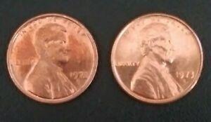 **RARE**1972 S & 1973 S Pennies