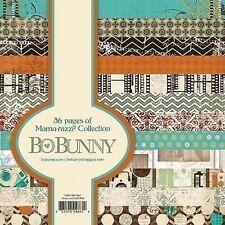 "New Bo Bunny  Paper Pad 6"" x 6"" Mama-Razzi 2"