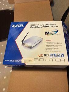 ZyXEL P-335U 802.11a/G Wireless Dual Band Vpn Router BNIB