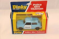 Dinky Toys 255 Police Mini Clubman perfect mint in box