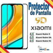 Protector de Pantalla Xiaomi Redmi 9 / 9A / 9C Cristal Templado 9D Full Cobertur
