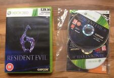RESIDENT EVIL 6 - XBOX 360 - BRAND NEW AND STILL SEALED / UNUSED