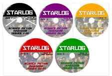 STARLOG 1-106 Sci-Fi Mag on 5 DVDs Star Wars, Babylon 5, Star Trek, Babylon 5 +