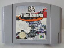 N64 Spiel - F1 World Grand Prix (PAL) (Modul) 10635513