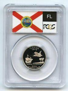 2004 S 25C Clad Florida Quarter PCGS PR70DCAM