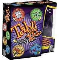 Hasbro Spiele 04199100 - Tabu XXL, Partyspiel Familienspiel