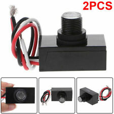 2x Outdoor Electric Resistor Photocell Light Control Sensor Switch Jl 103a New