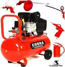 50 L litro de compresor de aire 2.5HP 8 Bar 9.6CFM con kits de 5PCS de rueda libre