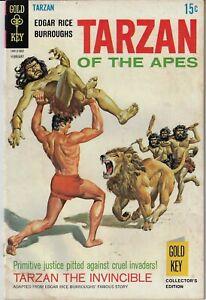 TARZAN OF THE APES # 182 GOLD KEY 1969