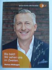 Original Autogramm - Markus Wildhagen - Bares für Rares ZDF