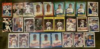 Juan Gonzalez Baseball Card Lot 1990 Topps Rookie  Donruss, Fleer Leaf +++