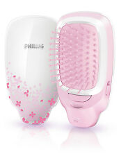 New Philips Electric comb HP4588 EasyShine Ionic styling brush battery operated