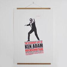 The Visionary Art Of Ken Adam / A1 / Plakat Poster Bill / Hochschultage HFK 2001