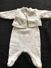 Petit Bateau 2-Piece Outfit (footie+ jacket) - Newborn (50 Cm)