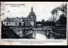 SAINTE-GENEVIEVE-des-BOIS (91) CHATEAU animé en 1914