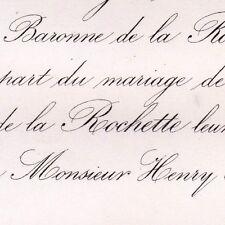 Marguerite Hyacinthe De La Rochette 1869 Henry Blount