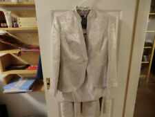 NassC designer 3 piece mother of the bride midi skirt suit 12 cost more than£400