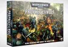 Warhammer 40000 profecía de El Lobo Box Set Nuevo Y En Caja