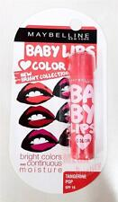 MAYBELLINE NEW YORK BABY LIPS COLOR TANGERINE POP SPF16 Bright and Moisture 4.5g