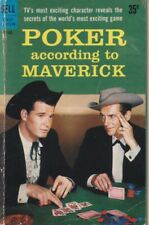 Poker According to Maverick. Dell First Edition B142 1959, 1st thus. 856228