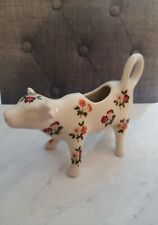 Rare Floral Pioneer Woman Fall Flowers Cow Creamer, Posey