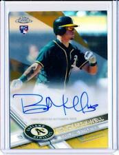 2017 TOPPS CHROME ROOKIE RC AUTO GOLD REFRACTOR BRUCE MAXWELL #16/50