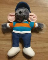 "Retro 8"" Roland Rat Soft Toy Decoration TV Character Posh Paws 2011 Window Plush"
