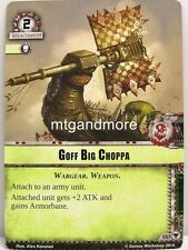Warhammer 40000 Conquest LCG - Goff Big Choppa  #057 - Gift of the Ethereals