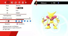 Alakazam Ultra Shiny Battle Ready Pokemon Sword - Shield, Pokemon Spada - Scudo
