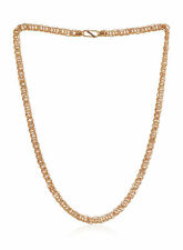 Stylish Dubai Men's Link Chain Necklace In Fine Hallmark 22Karat Yellow Gold 20""