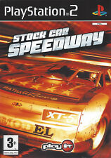 STOCK CAR SPEEDWAY for Playstation 2 PS2 - with box & manual - PAL