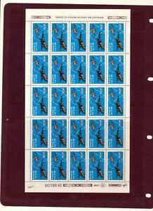 BRAZIL 1991 Aviation MNH Sheet of 25 Stamps (ZA 711