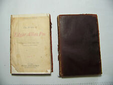 TWO VOLUMES THE WORKS OF EDGAR ALLAN POE  COPYRIGHT 1905