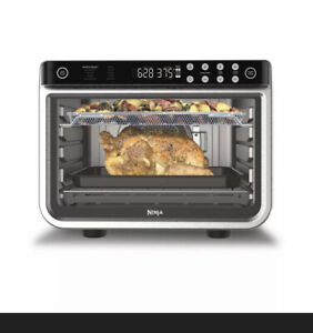 New Ninja DT200 Foodi 10-in-1 XL Pro Air Fry Digital Convection Toaster Oven