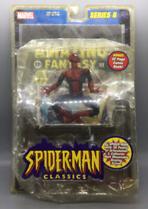 Marvel Legends Spider-Man Classics Series II Spider-Man Comic Book Toy-Biz 2001