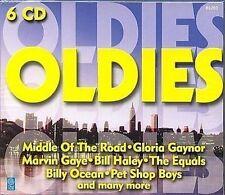 Oldies 6 CD-Box u.a Marvin Gaye, Billy Ocean, Pet Shop Boys, Baccara, Paul Anka