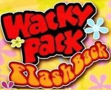 Wacky Packages Flashback SERIES 1 set of 72 plus Bonus