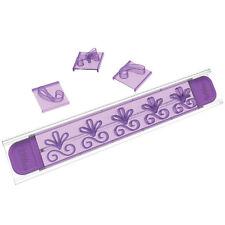 Stampi fiori per bordi Wilton set 16 imprimi decori decora dolci torta - Rotex