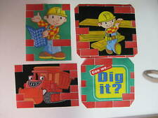 Bob the Builder Fabric Iron Ons Appliques  (style #13)