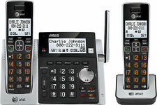AT&T CL83213 DECT 6.0 Cordless Phone 2 Handset Digital Answering System