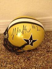 Johnathan McCrary Auto Signed Mini Helmet Vandy