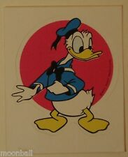 RARE! DONALD DUCK 1970's DISNEYLAND Sticker UNUSED